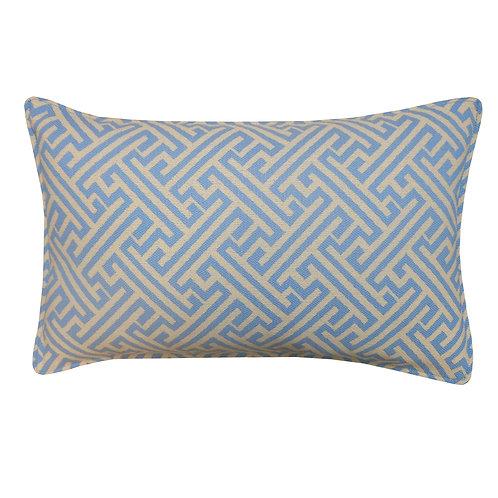 Maze Weave Outdoor Lumbar Pillow