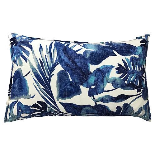 Rainforest Print Outdoor Lumbar Pillow