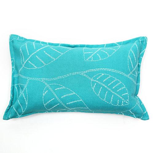 Sketch Print Outdoor Lumbar Pillow
