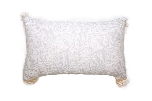 Grain Grey Outdoor Pillow