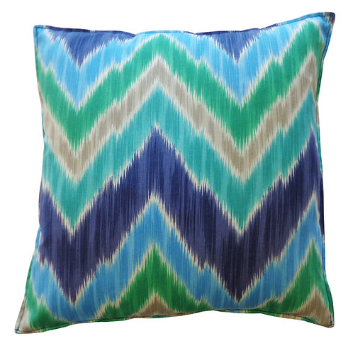 Pulse Print Outdoor Throw Pillow