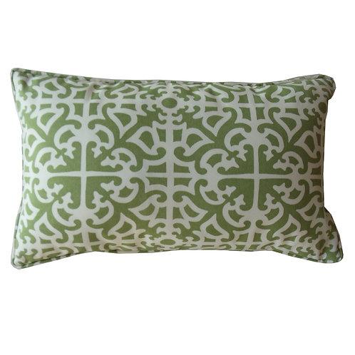 Malibu Print Outdoor Lumbar Pillow