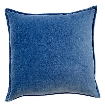 Dyed Velvet Blue 24x24