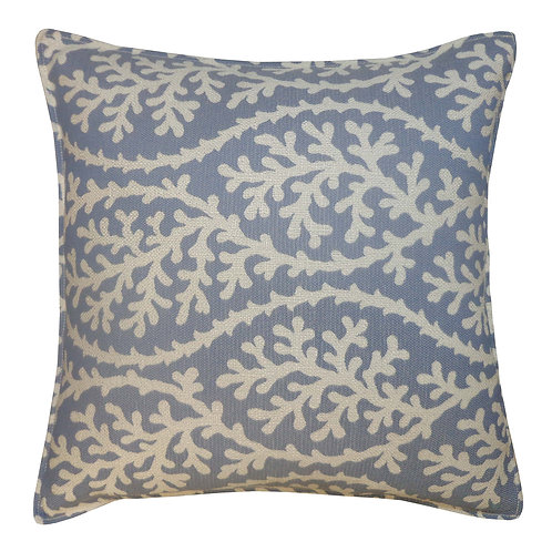 Coral Weave Outdoor Throw Pillow