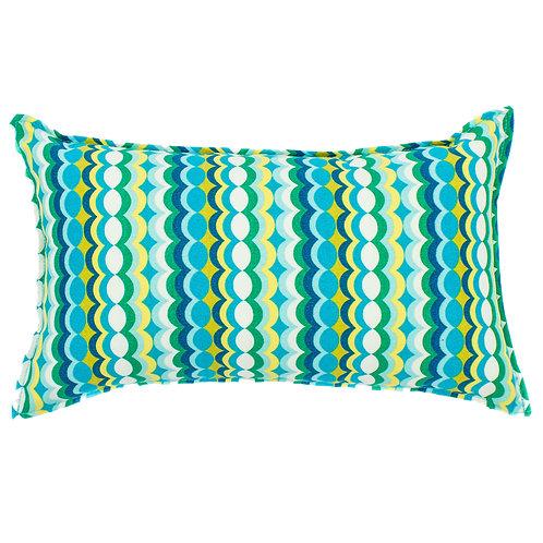 Bubble Print Outdoor Lumbar Pillow