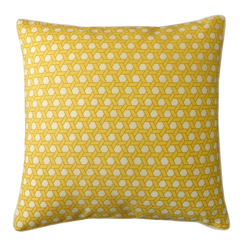Bamboo Print Outdoor Throw Pillow