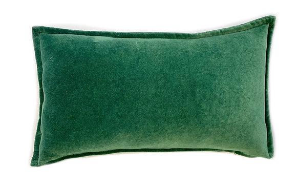 Dyed Velvet Green