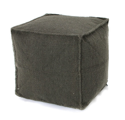 Charcoal outdoor Pouf
