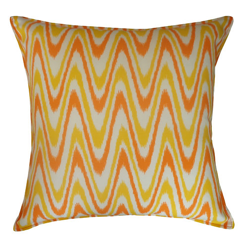 Electric Print Outdoor Throw Pillow