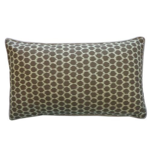 Splotch Print Outdoor Lumbar Pillow