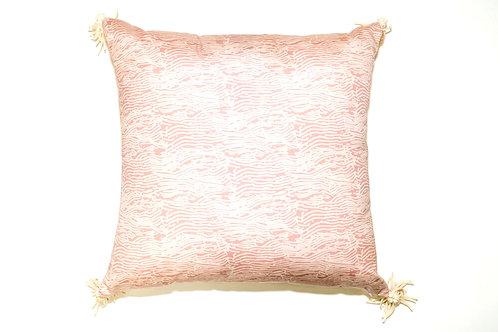 Pink Grain Outdoor Pillow