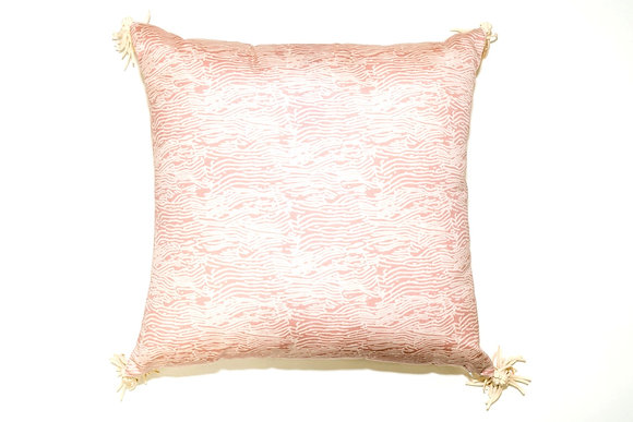 Pink Grain Outdoor Pillow