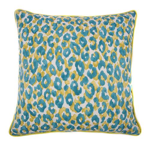 Cheetah Print Outdoor Throw Pillow