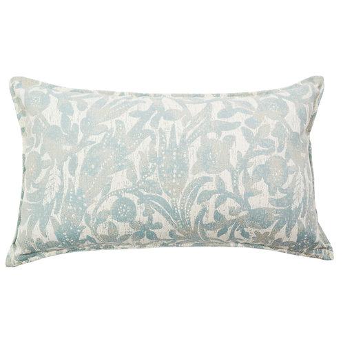 Sea Urchin Woven Print Outdoor Throw Pillow
