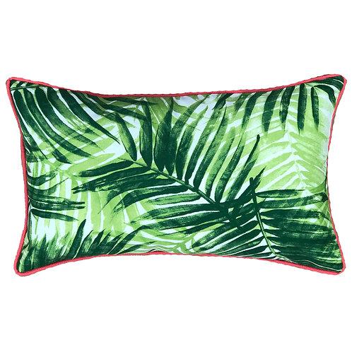 Mia Print Outdoor Lumbar Pillow