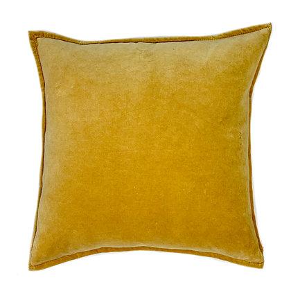 Dyed Velvet Yellow 24x24