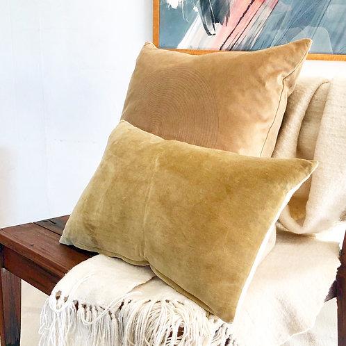 Classic Mixed Media Lumbar Pillow