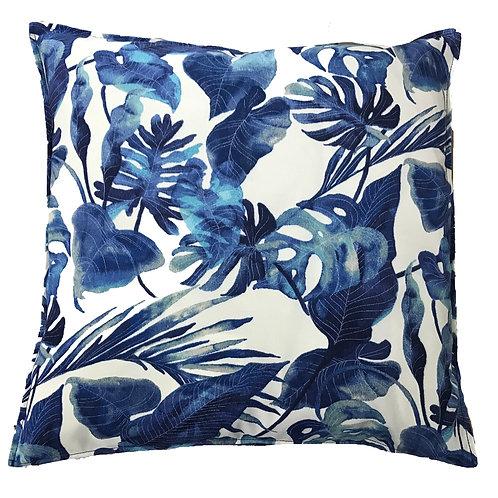 Rainforest Print Outdoor Throw Pillow