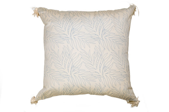 Ikal Cream Outdoor Pillow