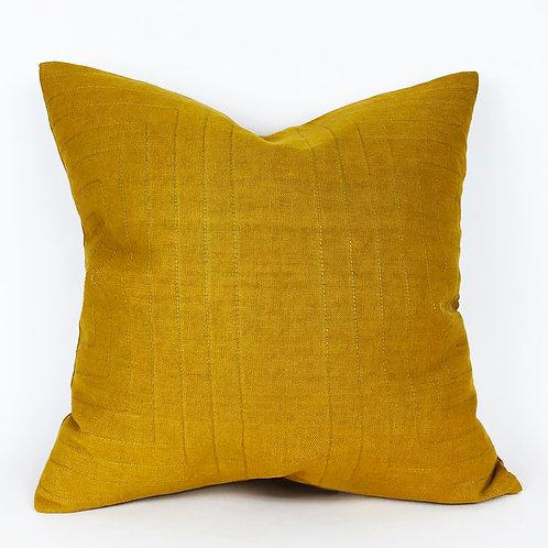 Streams Linen Throw Pillow