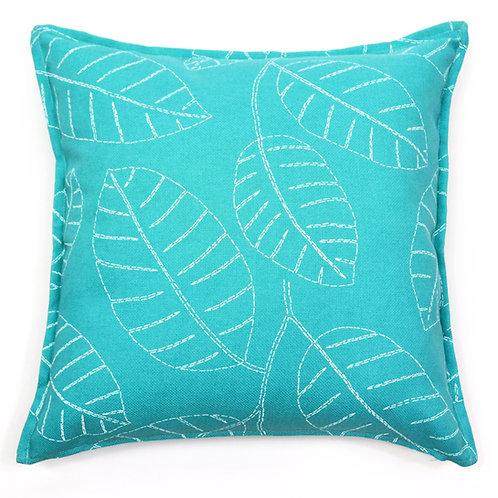 Sketch Print Outdoor Throw Pillow