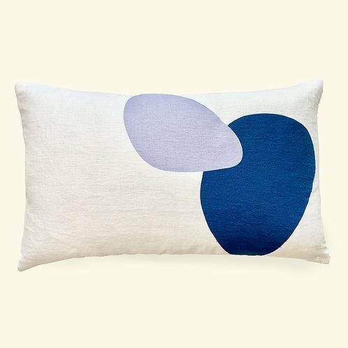 Bubble Linen Lumbar Pillow