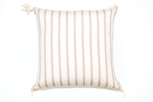 Nude Stripe Texture Outdoor Pillow