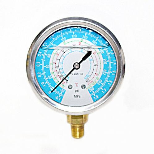 Manômetro de baixa 0 a 225 psi (com glicerina)