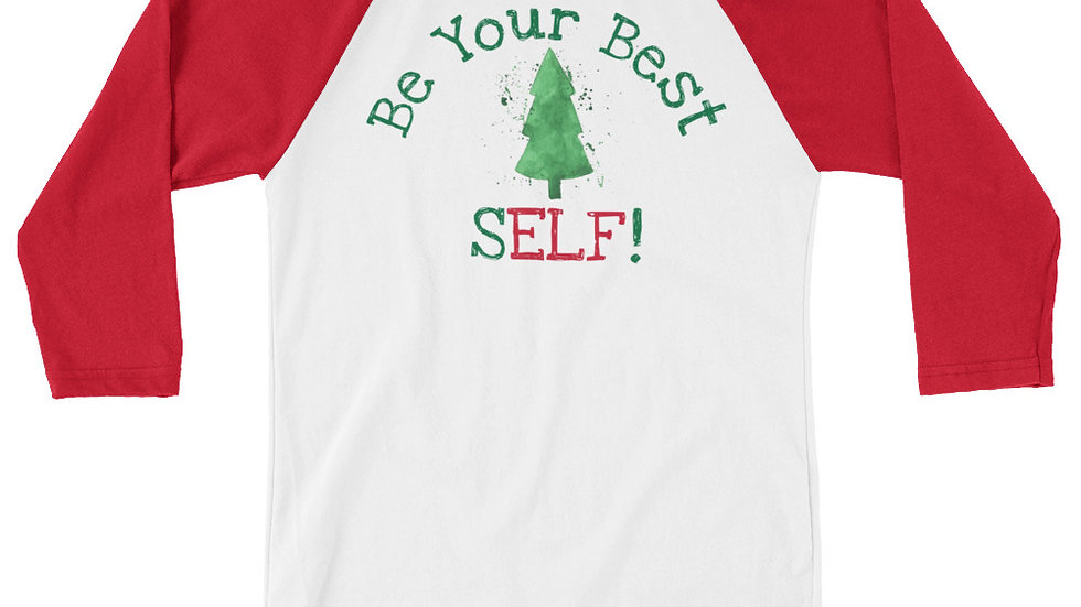 Be Your Best SELF Holiday Baseball Tee