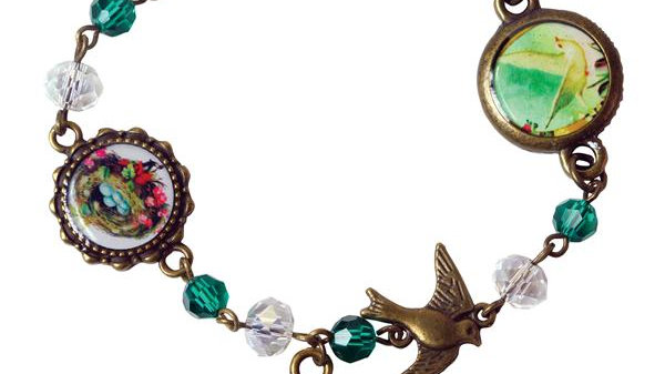 Victorian Bird Bracelet