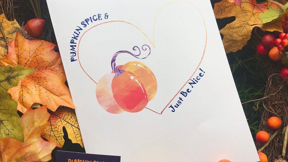 Pumpkin Spice Kindness Kit