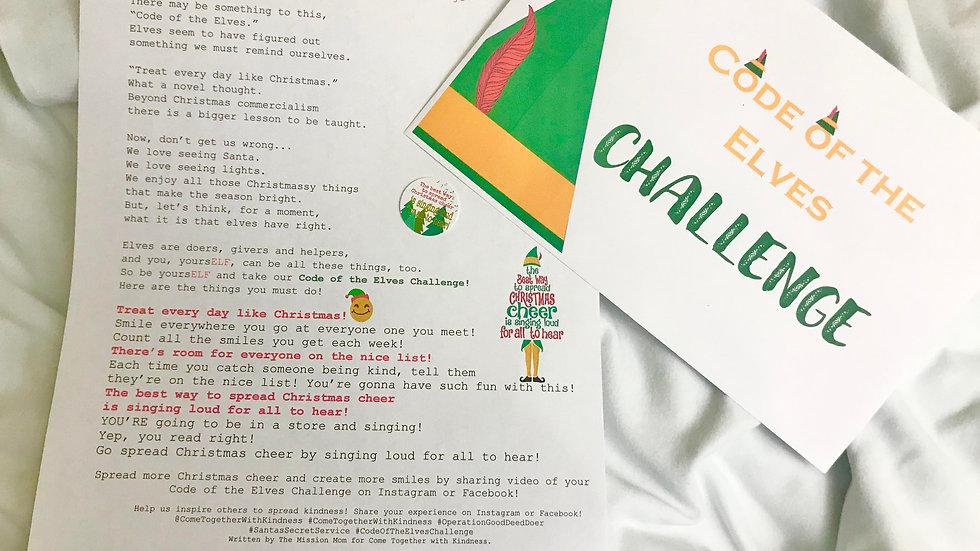 Code of the Elves Challenge Kindness Kit