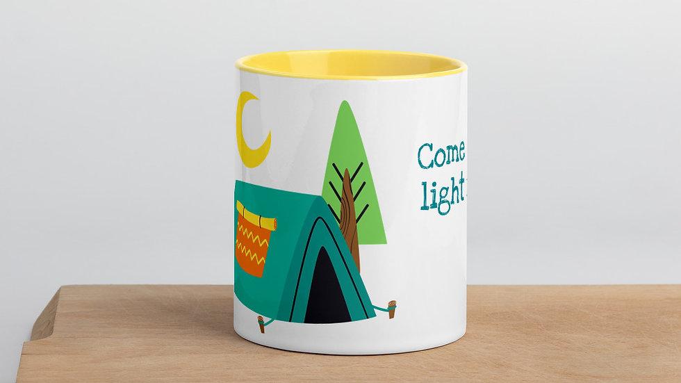 Tent Light My Fire 11 oz Mug