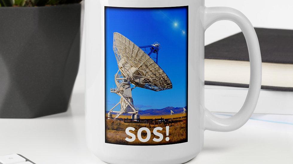 SOS Satellite Mug