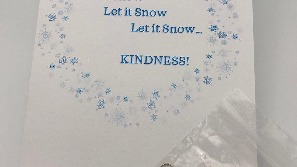 Let it Snow Kindness Kit