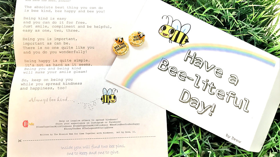 Bee Kind Bee You Bee Happy Kindness Kit
