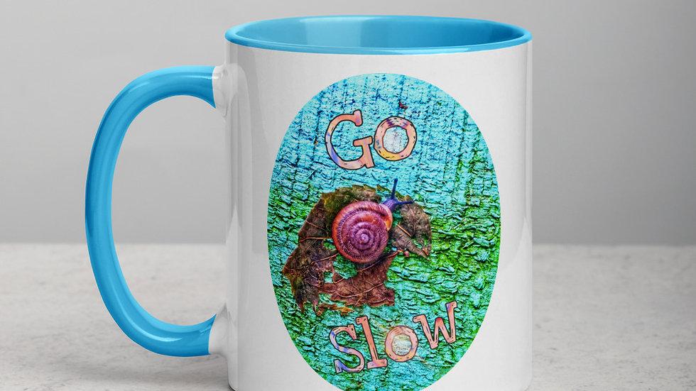 Go Slow Snail Mug