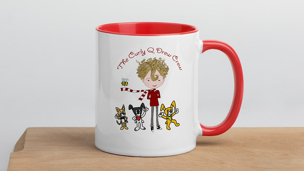The Curly Q Drew Crew Mug