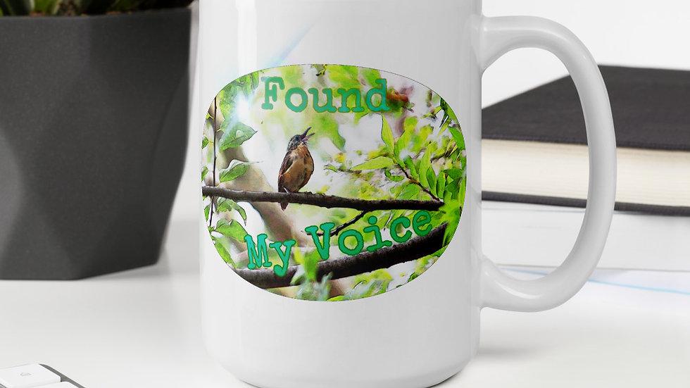 Found My Voice Bird Mug
