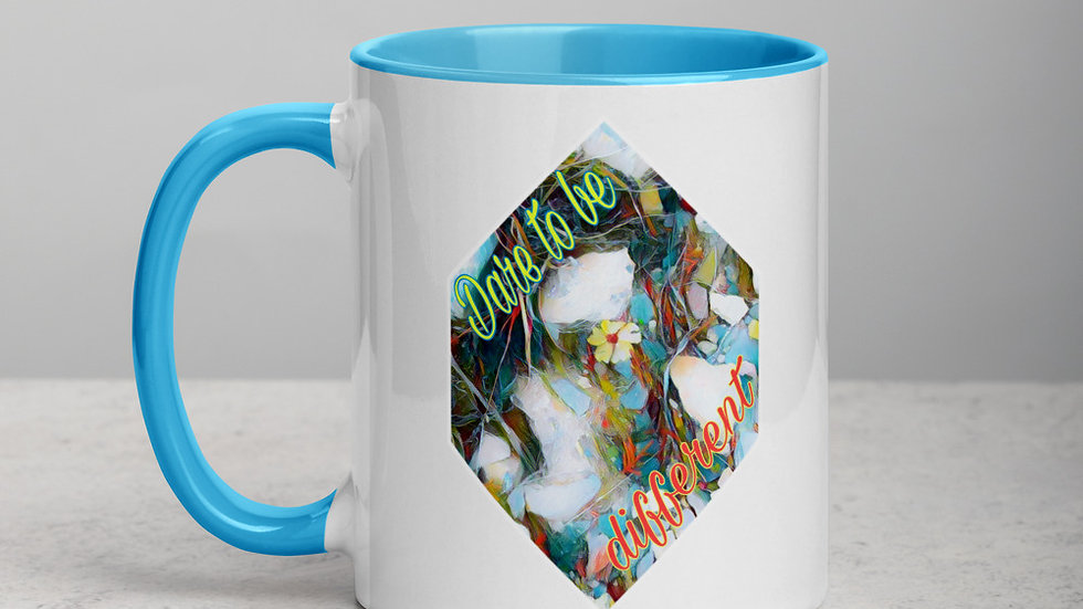 Dare to Be Different Mug