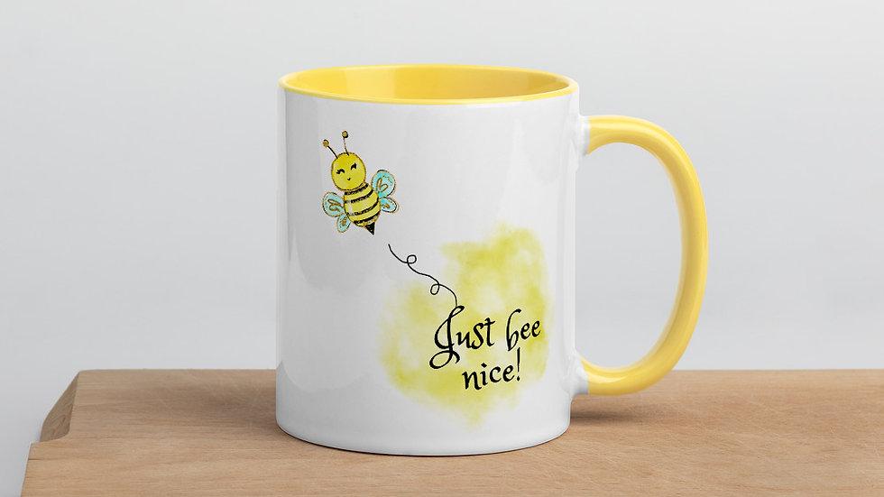 Llama Bee Nice Mug