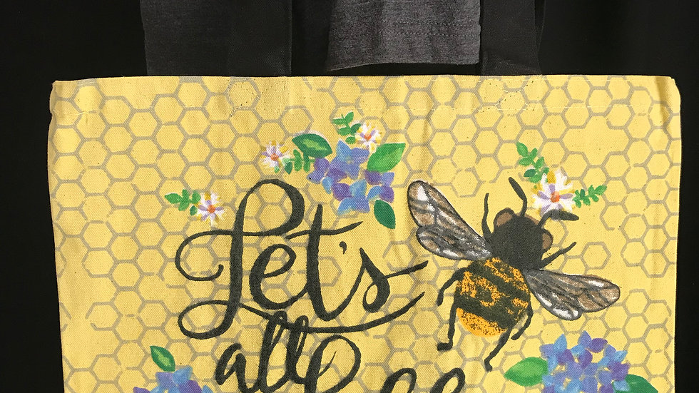 Let's All Bee Kind Tote