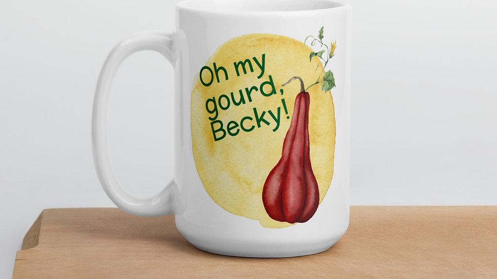 Oh My Gourd, Becky Fall Mug