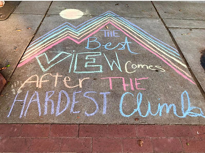 Art by Laney _ Fall Chalk Walk