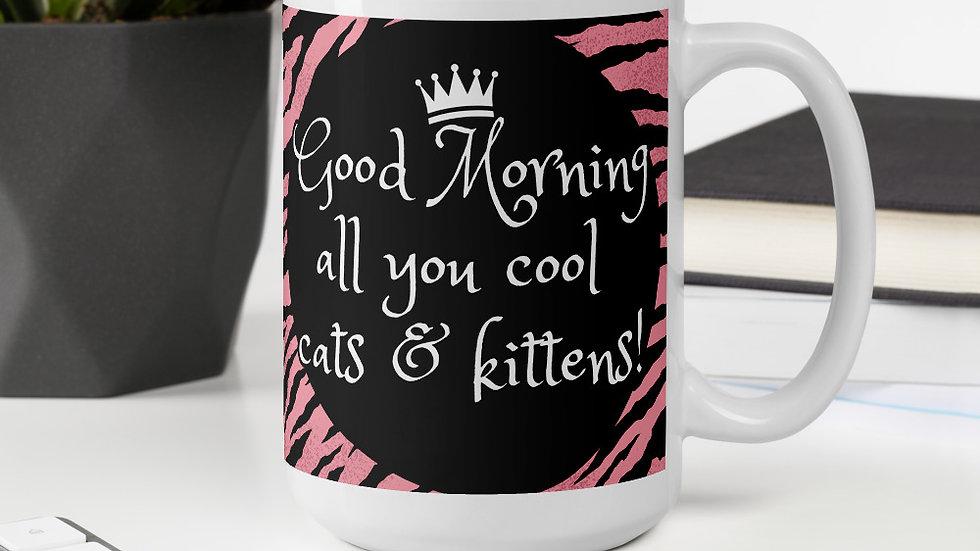 Good Morning Cool Cats & Kittens Mug
