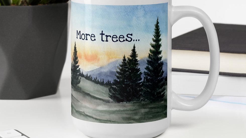 More Trees, Less People Mug