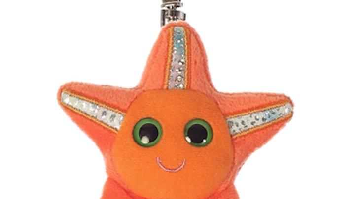 Starfish Plush Keychain
