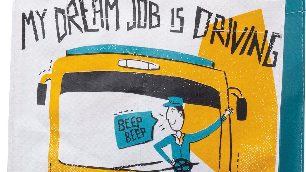 Driving Karma Bus Tote