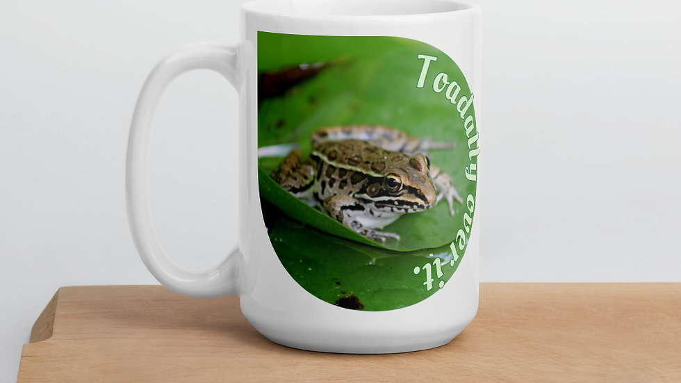 Toadally Over It Mug