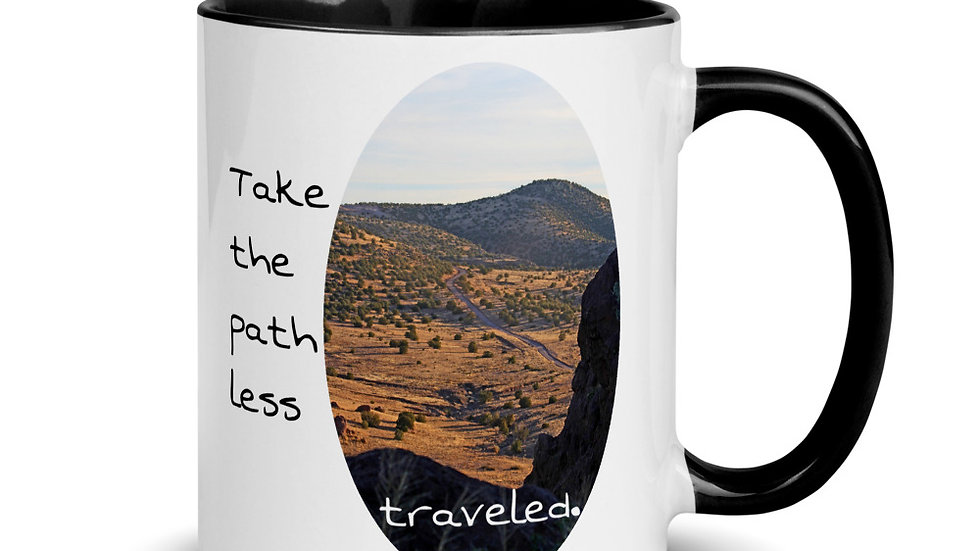 Path Less Traveled Mug